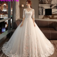 cecelle robe de marie 2019 Ball Gown Wedding Dress With