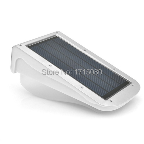2016 New  38 LEDS LED Solar Power Motion Sensor Garden Security wall Lamp Outdoor Waterproof solar Light luminaire free shipping