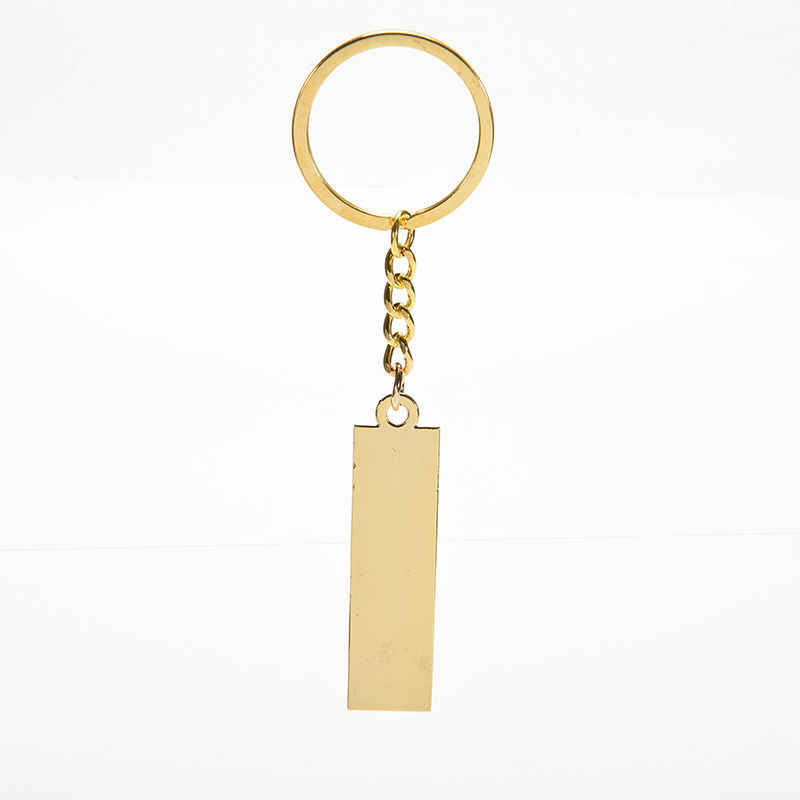 Nieuwe De beste gift Voor BoysCreative Grappige mode Snuisterijen Sleutelhanger Lichtmetalen metalen sleutelhanger Gold bullion sleutelhangers Brand 51.5 cm