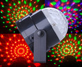 6PCS Supertech 7 Color Changing 3W RGB Crystal Magic Rotating Ball Effect Led Stage Lights For KTV Xmas Party Wedding Show