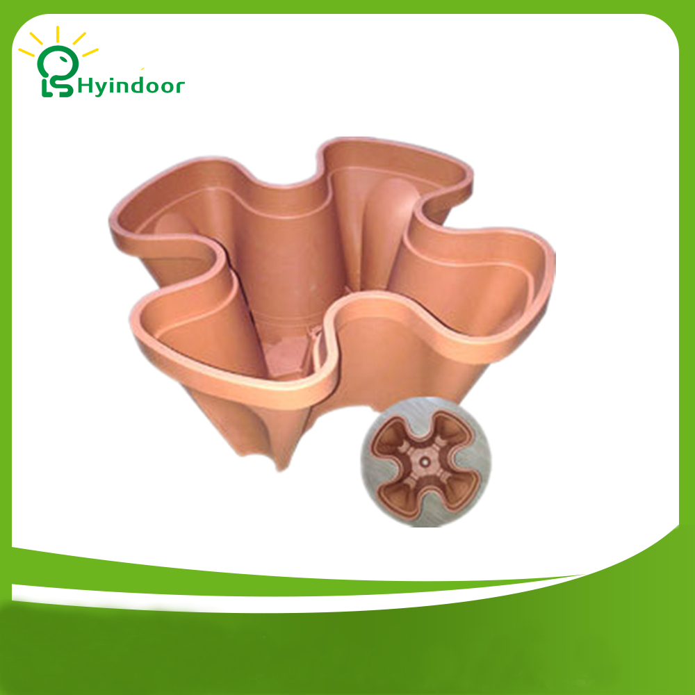 Special flower pots flowers strawberry seed planting balcony suite balcony stacking plastic flower pots hanging pots