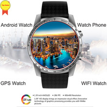 купить 3G Smartwatch Phone Android 5.1 OS watch MTK6580 Quad Core 8GB Heart Rate Monitor Pedometer GPS phonewatch men women Smart Watch дешево