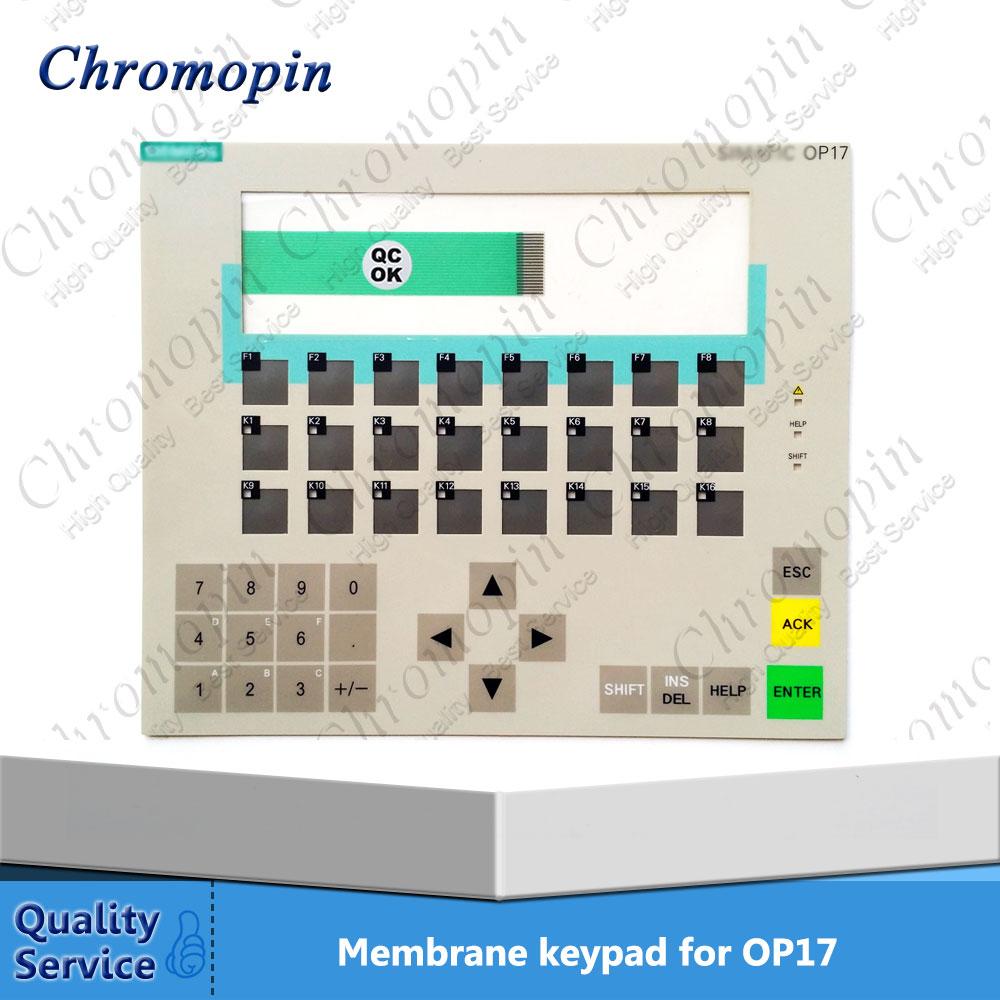 Membrane keypad for 6AV3617-4EB12-0AA0 6AV3 617-4EB12-0AA0 6AV3617-4EB42-0AA0 6AV3 617-4EB42-0AA0 OP17