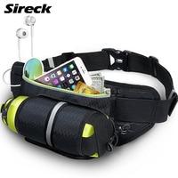 Sireck Sport Gym Bag Men Women Running Waist Bag Waterproof Sports Hydration Belt Cycling Travel Hiking