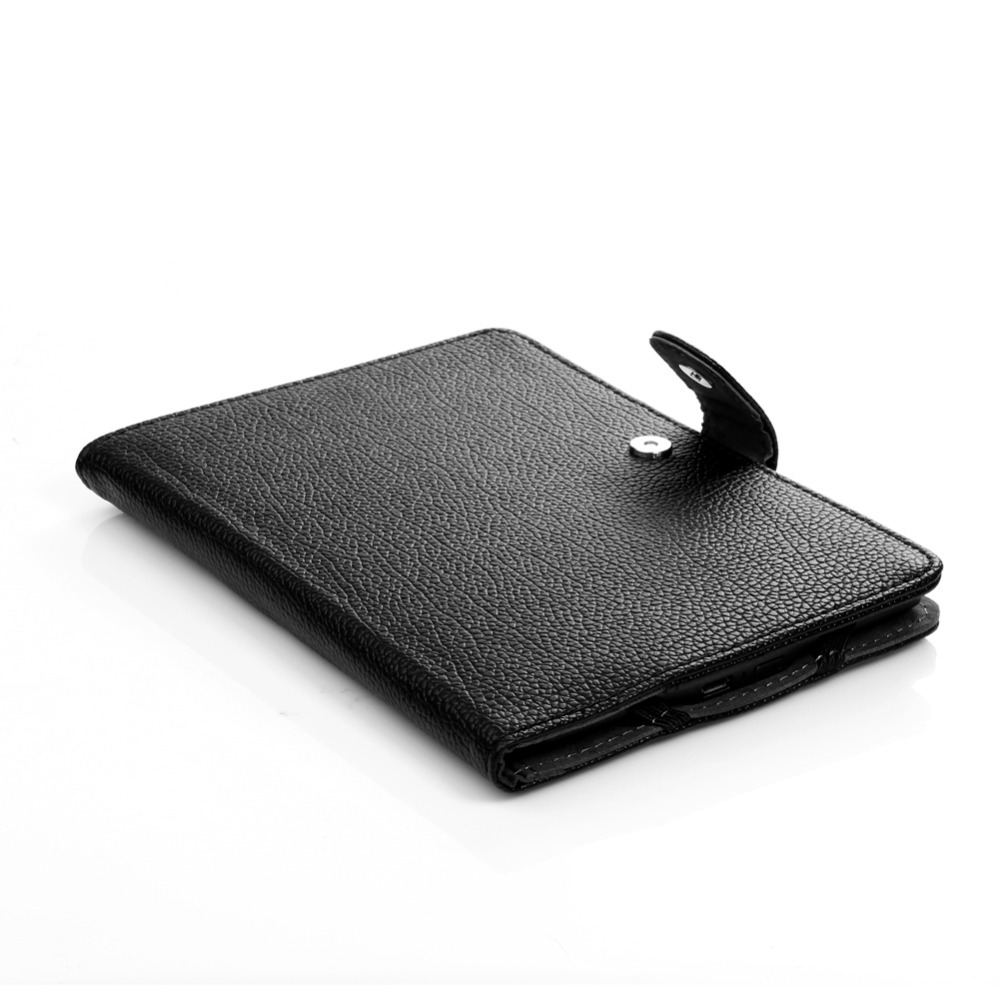 Faux (PU) Leather stand book-style cover case for Amazon kindle Touch/4/5 eReader