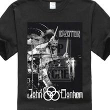 John Bonham Led Zeppelin Drummer hombres Gildan camiseta Negro S Xxl(China) fbb0d6e8f7b31