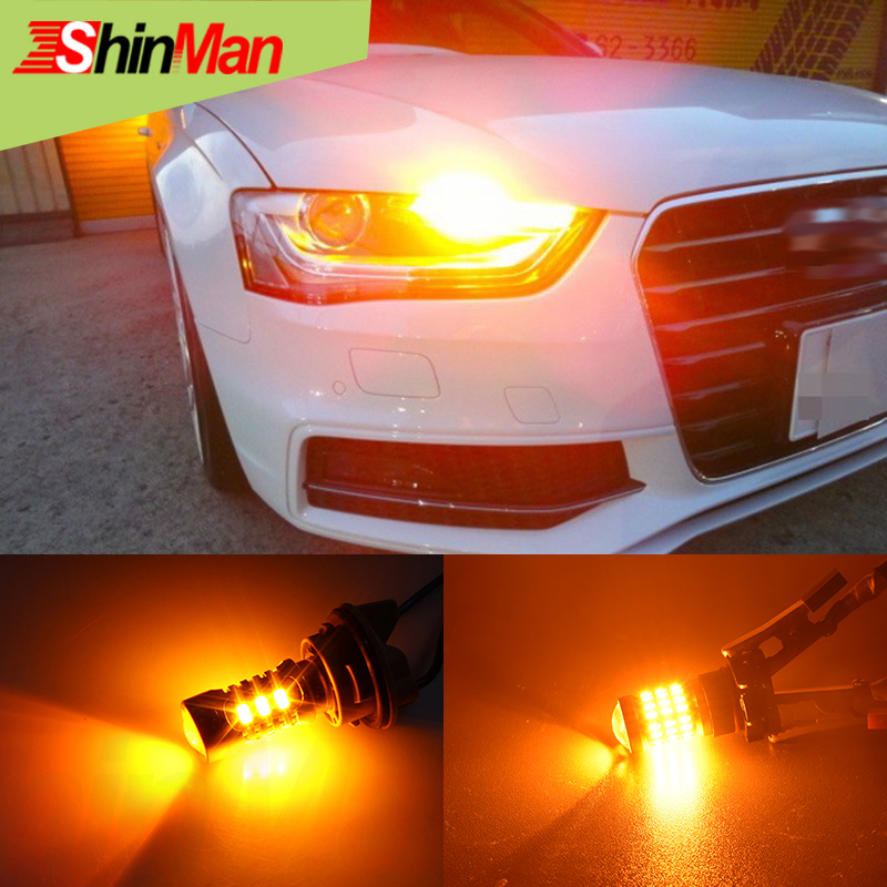 2x Высота Мощность <font><b>5202</b></font> PSY24W PS19W 9009 PWY24W H16 Светодиодный лампа для автомобиля светодиодный спереди Включите свет лампы автомобилей светодиодный &#8230;