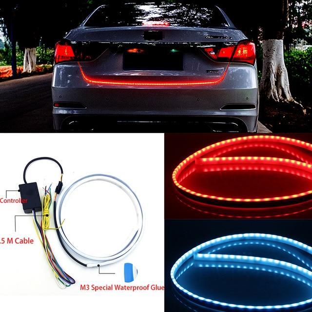 OL 120 CM LED Auto Truck Tailgate Lichtleiste Auto styling Rot und ...