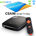 4 GB de RAM 32 GB ROM Android 6.0 Caixa De TV 3G 32G Rockchip RK3399 csa96 streaming media player inteligente tvbox wi-fi bluetooth 4.0 4 k vs mi