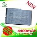 Golooloo 4400 mah batería de 6 celdas para dell inspiron 500 m 510 m 600 m Latitude 500 m 600 m D510 D505 D500 D510 D530 D520 D600 D610