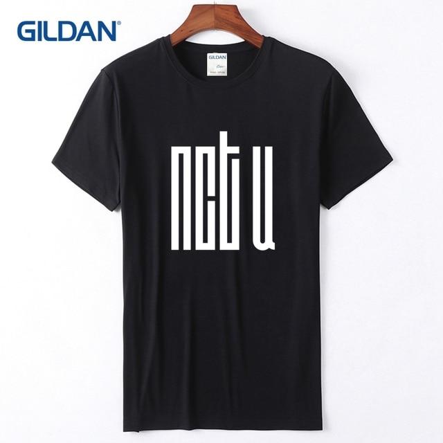 5120404b5 Shop T-Shirt 2018 Nct U Logo Create Your Own T Shirt Quality Print Tshirts I
