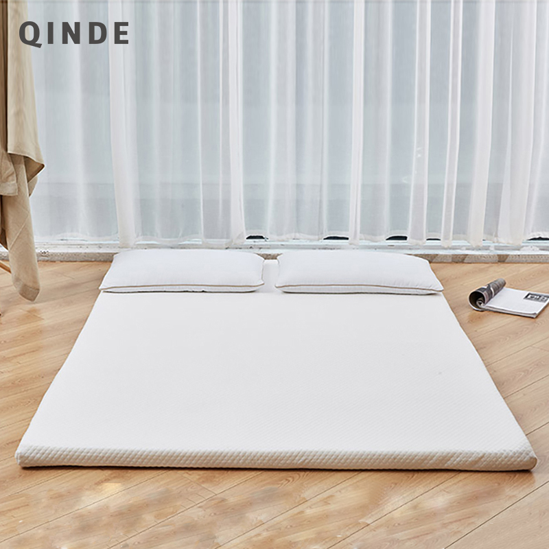 Super Soft And Comfortable And Breathable High Density Resilience Mattress Foam Topper With Compressed And Rolled Up Package 1# wfgogo thickness 23 cm spring mattress twin high density vacuum compression foam latex soft bed bedding