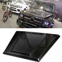 W463 G Class G500 G65 Double Sided Carbon Fiber Engine Hood Vents For Mercedes Benz W463