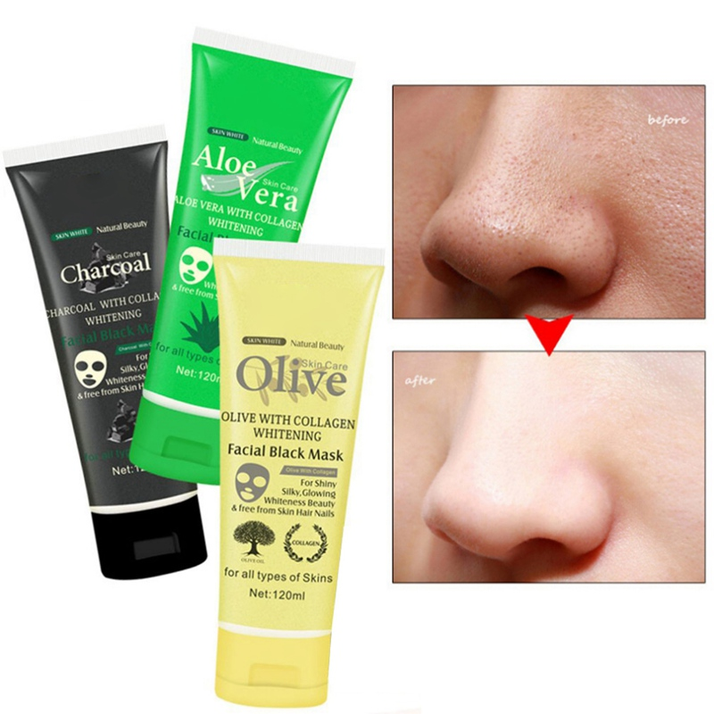 Blackhead Cleansing Remover Mask Bamboo Charcoal Blackhead: 2019 Blackhead Remover Facial Mask Black Peel Off Deep