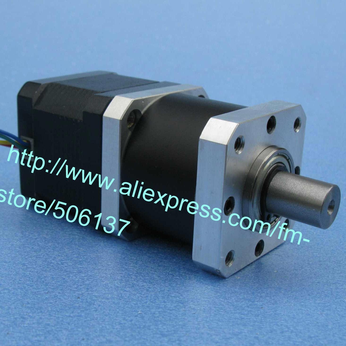 Two phase four wire Hybrid stepping motor  GP42 planetary gearbox 42mm  Nema 17 gearbox in stepper motor Nema 17 Step gear motor 428yghm818 stepper motor two phase four wire