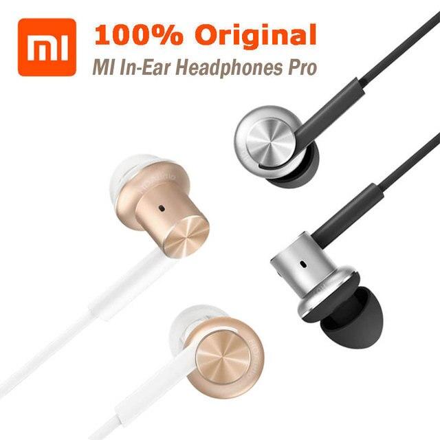 Hybrid dual drivers originales xiaomi mi in-ear auriculares pro calidad de sonido optimizada inducido equilibrado dinámico círculo de hierro