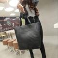 Hot Selling Women PU Handbag Tote Shoulder Bags Large Capacity retro fashion alligator pattern shoulder portable bag ladiesG0364