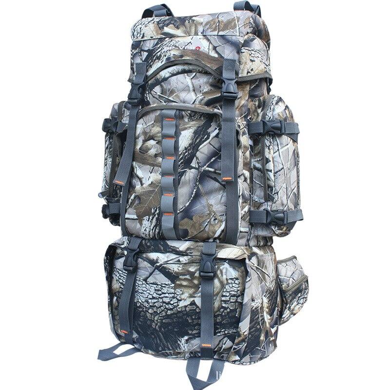 80L sac à dos extérieur sac d'alpinisme Bionic Camouflage randonnée tactique de chasse sac à dos A4844