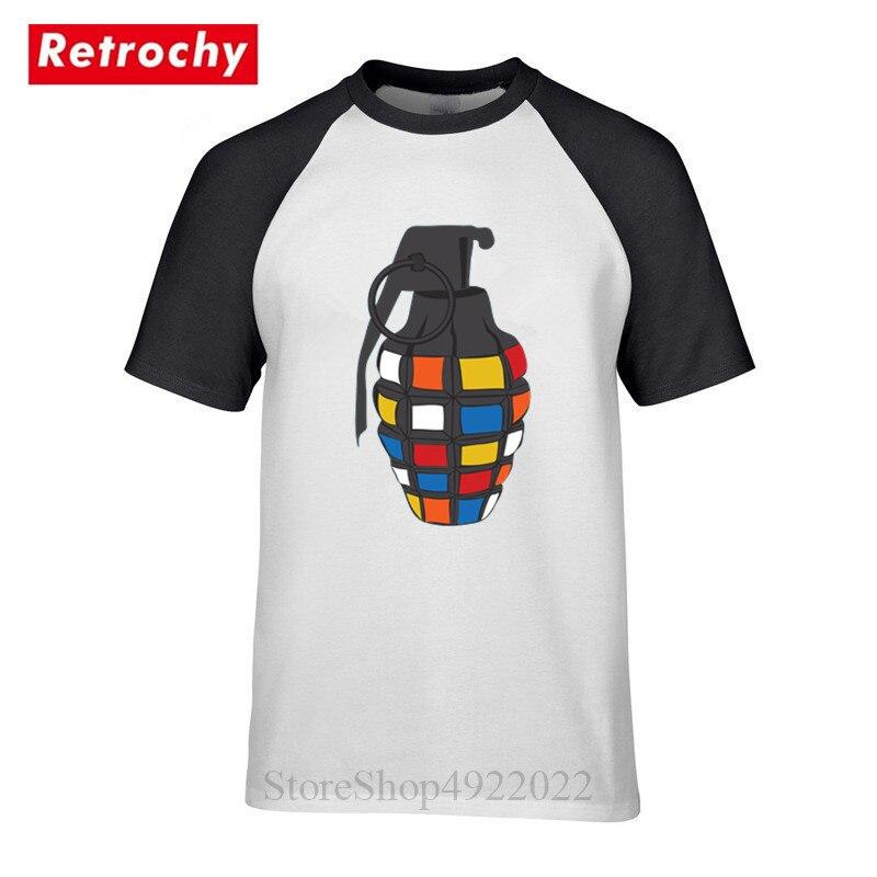 205ad7d2b Novedad diseño impreso hombres Rubiks T camisa creativo Streetwear,  gracioso, de los 90 ropa de la ...