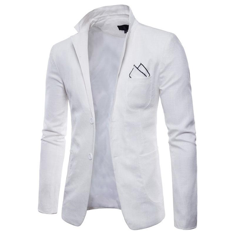 New 2019 sprin autumn Casual Explosion models solid color candy color suit men's casual suit fashion 2 button dress brazer men