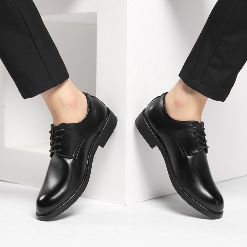Round Toe Formal Dress Derbies Shoes