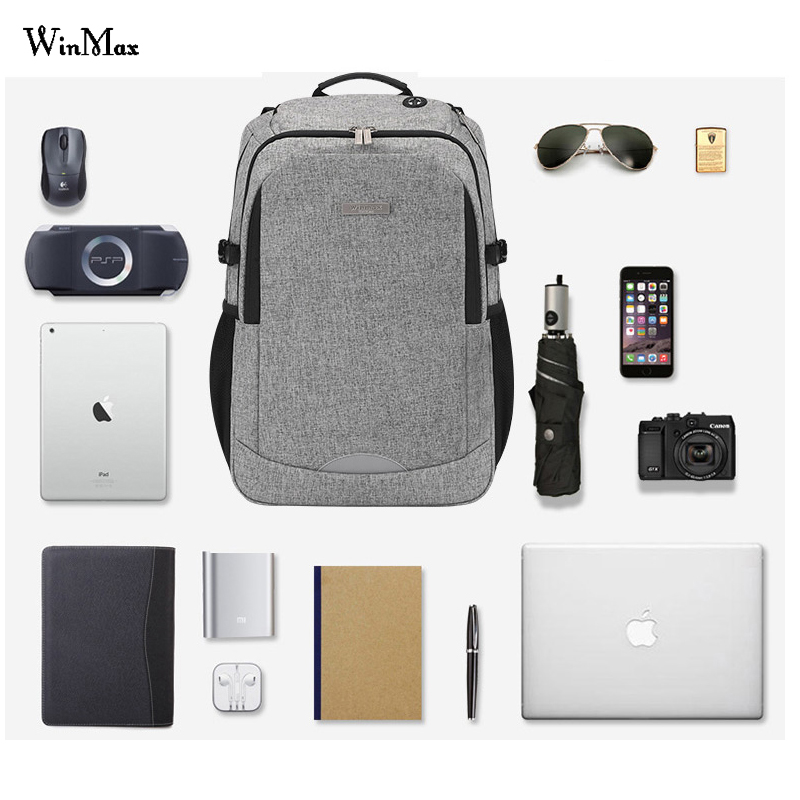 Multifunction USB charging Men 15inch Laptop Backpacks For Teenager Fashion Male Mochila Leisure Travel backpack anti thief bag рубашка поло tokyo laundry футболки спортивные