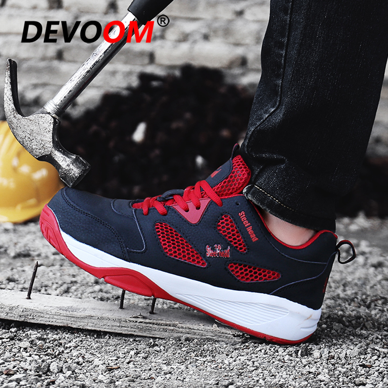 New Fashion <font><b>Mens</b></font> Summer Sneakers <font><b>Men</b></font> Sport <font><b>Shoes</b></font> Beach Schoenen Heren Breathable <font><b>Men</b></font> Casual <font><b>Shoes</b></font> Hot Sale Pu Safety Footwear 44 image