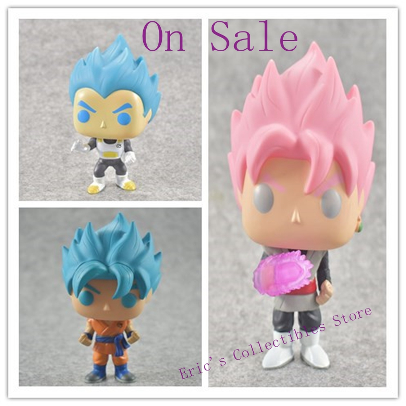 FUNKO POP Dragon Ball super Toy Son Goku Action Figure Anime Super Vegeta POP Model Doll Pvc Collection Toys