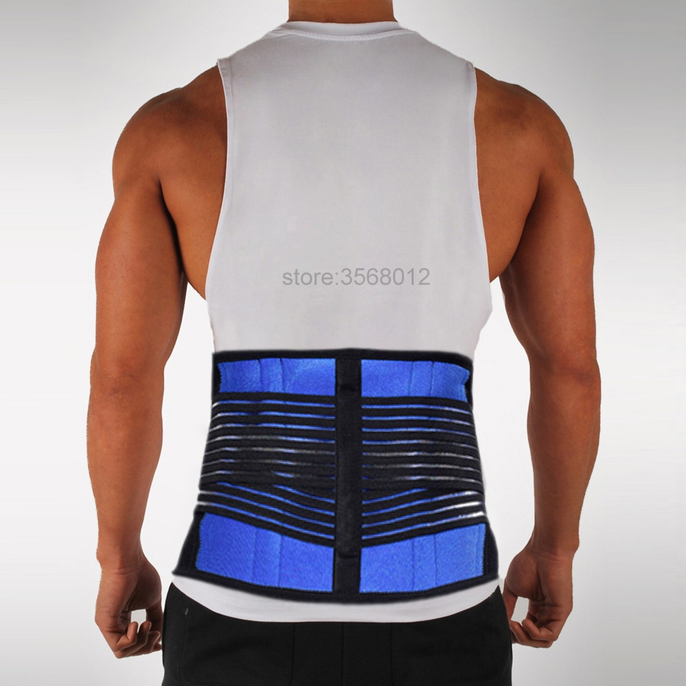 S M L XL <font><b>XXL</b></font> Adjustable Support Sport Accessories Back Support Brace <font><b>Belt</b></font> Lumbar Lower Waist Double Adjust Back Pain Relief Men image