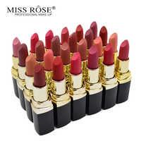Miss Rose 6pcs/set Waterproof Matte Lipstick Set Nude Moisturizing Lip stick Lot velvet Lips tint Sexy Red Batom Beauty Makeup