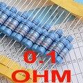( 2 шт./лот ) 0.1 Ом 1% металлопленочные резисторы 3 Вт, 3 Вт