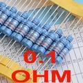 ( 2 unids/lote ) 0.1 ohm 1% resistores de película metálica 3 w, 3 Watts