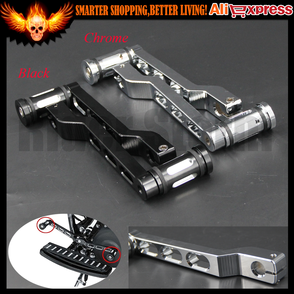 For Harley Touring Softail Glide Custom CNC Deep Edge Cut Heel/Toe (Black,Chrome)Motorcycle Shift Lever with Shifter Peg sale for harley softail fxdwg dyna wide glide flhr flt flht motorcycle moto skulls type shift linkages chrome black cnc aluminum