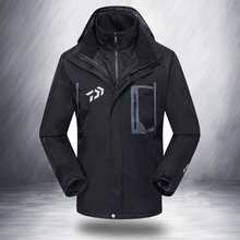 2017 NEW DAIWA Fishing Two-piece go well with jacket parka Autumn And Winter DAWA Hold heat thicken Mountaineering DAIWAS Free delivery