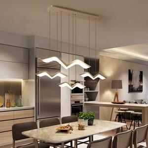 Image 3 - Martı modelleme Modern LED kolye ışıkları oturma odası yemek odası için mutfak ev asılı dekor süspansiyon aydınlatma armatürleri