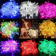 New LED String Light 200 LED 20M Christmas/Wedding/Party Decoration Lights Garland AC 110V 220V outdoor Waterproof Led Lamp blue 180 led christmas decoration string lights 18 meter 220v ac