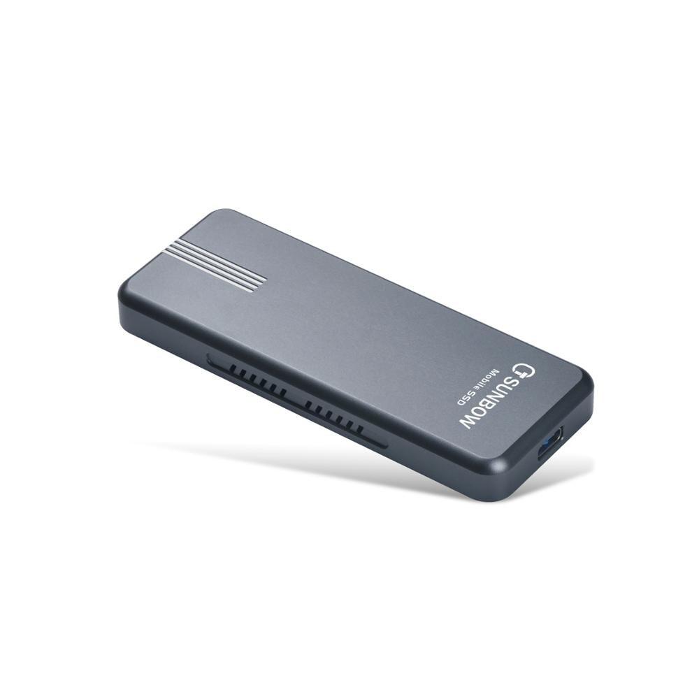 Dernier disque dur externe léger TCSUNBOW Portable SSD 120 GB pour les entreprises et les particuliers