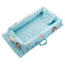 Foldable Sleeping Crib Bed Portable Bassinet Basket Baby Travel Bumper Bedding Sets 90*50*15cm