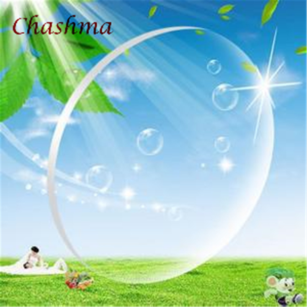 Chashma Brand Free Form Anti UV Anti Reflective Aspheric 1.67 Index Field Large Progressive Thin Multifocal Lenses Office Work
