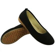 2017 Новые Женщины Работают Обувь Дышащая Скольжения На Хлопок Квартиры Для Женщин Мокасины Белый Черный Kahki Коричневый Плюс Размер 34-42