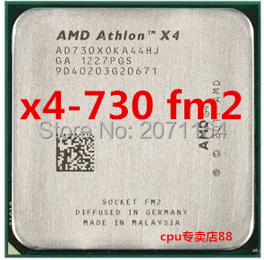 For AMD Athlon II X4 730 quad-core 2.8G CPU FM2 Interface official version