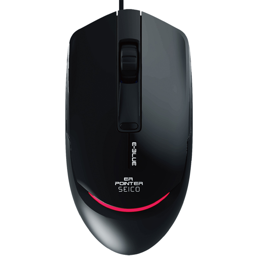 e3lue ems145 usb wired adjustable 2400dpi ergonomic game home office mouse computer gaming mice
