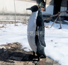 big new simulation penguin toy polyethylene & furs penguin doll gift about 85cm