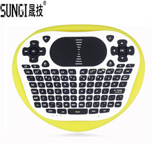 Original T8 Wireless Mini Keyboard 2.4G Air Fly Mouse Keyboard With Muti-touch Touchpad For Android TV Box Notebook Tablet PC