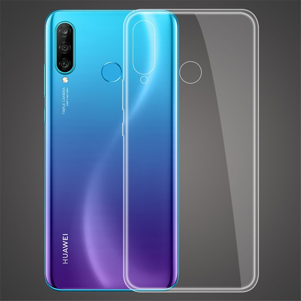 JONSNOW Clear Cases For Huawei P30 Lite P30 Pro Y6 Y7 Pro 2019 Protective Soft Silicone Cover for Honor 8A 8C 8S Honor 10 Lite in Fitted Cases from Cellphones Telecommunications