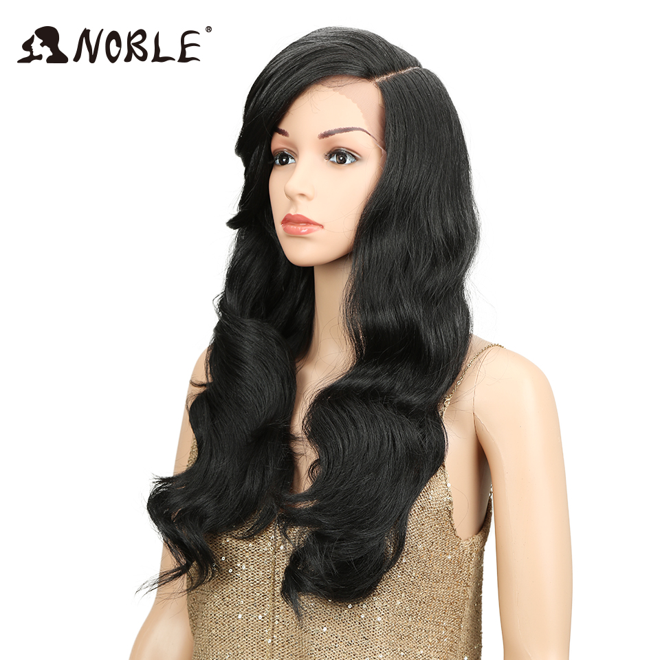 "Noble 22"" Long Loose Wave Equal Ombre Glueless Heat Resistant Wig 180% Heavy Density Synthetic Wigs For Black Women"