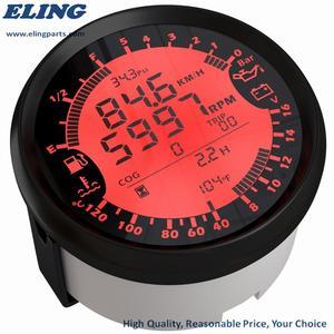 Image 3 - ใหม่ 6 in 1 Multi functional วัด GPS เครื่องวัดความเร็วชั่วโมงอุณหภูมิน้ำการใช้ระดับความดันน้ำมันโวลต์มิเตอร์ 12V 0 5Bar