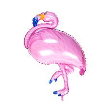 2pcs Large Bird Balloon Flamingo Foil Balloons Children Classic Toys Inflatable Ballon Decor For Birthday Wedding Party Supplies