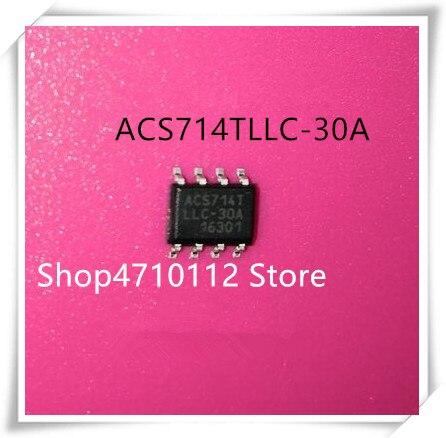 NEW 10PCS/LOT ACS714 ACS714TLLC-30A ACS714LLCTR-30A-T SOP-8 IC
