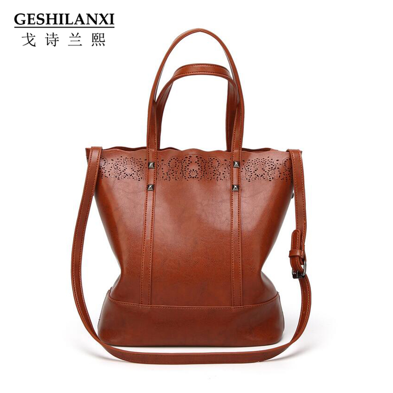 GESHILANXI Women Handbag High Quality Famous Designer Brand PU Leather Messenger Bag shoulder Bag Crossbody Bags female bag Tote